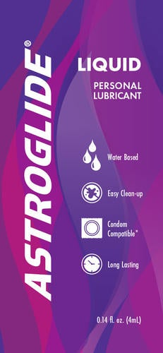 ASTROGLIDE Personal Lubricant Image - Sample for Healthcare Pros