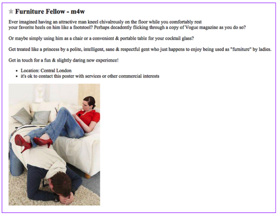 13 Craigslist Personal Ads that Will Completely Change the Way You Look at Dating